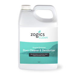 Zogics Enzyme Enriched Floor Cleaner & Deodorizer, 1 Gallon (CLNEZB128RU)