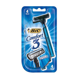 Bic Shaver Comfort 3, Men (4/pack) (1559265)