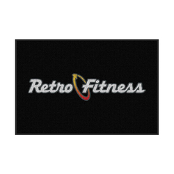 M+A Matting Retro Fitness Waterhog Logo Inlay, Interior Entrance Mat (234-Retro)