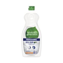 Dishwashing Liquid, Free and Clear, 25 oz (12/case) (SEV44718CT)