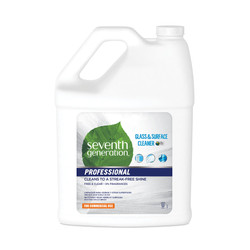 Glass and Surface Cleaner, Free and Clear, 1 gallon (2/case) (SEV44721CT)