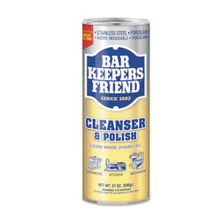Biggestbook Powdered Cleanser and Polish, 21 oz Can, 12/Carton