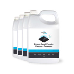 Zogics Rubber Sport Flooring Cleaner & Degreaser, 1 Gallon (4 units/case) (CLNRFC128CN-4)