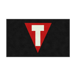M+A Matting TITLE Boxing Full Color Logo Classic Impressions, Horizontal Interior Wiper Mat, 70, 3' x 5'