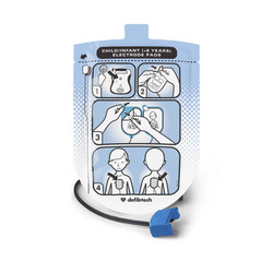 Defibtech DDU-100 Series Defibrillation Pad Package, Pediatric (1 set) (DDP-200P)