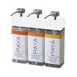SOLera 3 Chamber Liquid Dispenser Replacement Bottle Set, Paya Labels (39334-R3-RBS-Paya)