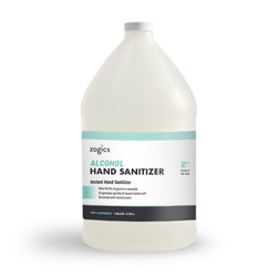 Alcohol Gel Hand Sanitizer, Fragrance-Free, ZHS80G128 (1 gallon)