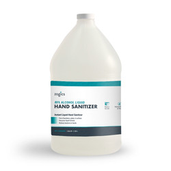 80% Alcohol Liquid Hand Sanitizer, Fragrance-Free, ZHS80SPR128