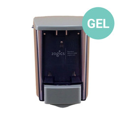 ClearVu Encore Gel Hand Sanitizer Dispenser, 30 oz, Gray