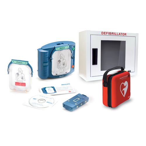 Philips HeartStart OnSite AED Defibrillator Bundle (M5066A-Bundle)