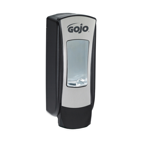 GOJO ADX-12, Foam Soap Dispenser, 1250 mL, Brushed Chrome/Black, 8888-06