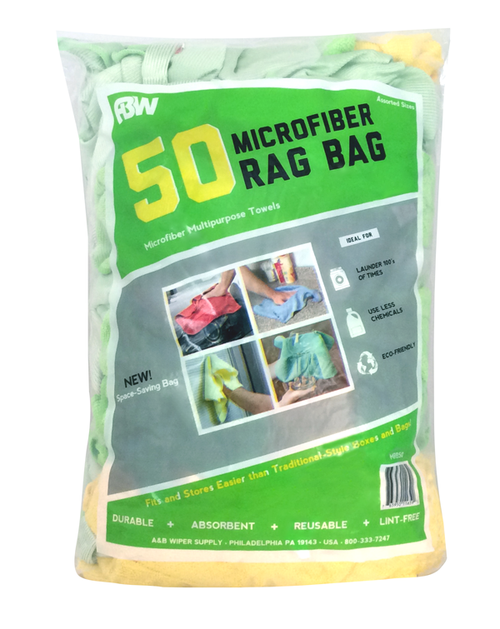 Multi-Purpose Rag Bag, Microfiber, MRB-50