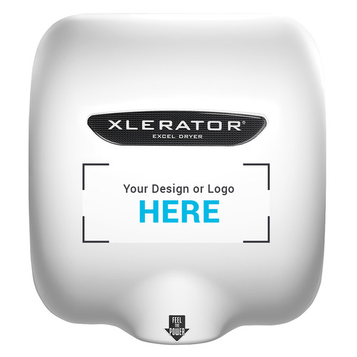 XLERATOR Hand Dryer, Custom Special Image, XL-SI