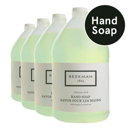 Beekman 1802™ Fresh Air Gel Hand Soap (4 gallons/case)