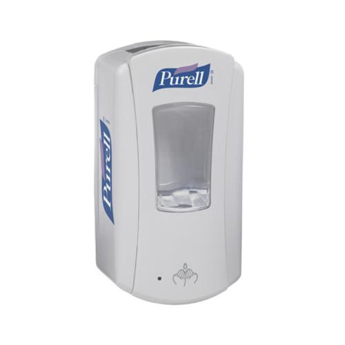 Purell LTX-12 Touch Free Gel Hand Sanitizer Dispenser, 1200 mL, White/White, 1920-04 Open