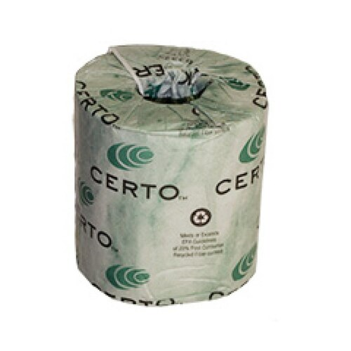 Certo 2-Ply Toilet Tissue, BT2325W (500 ft/roll) (96 rolls/case)