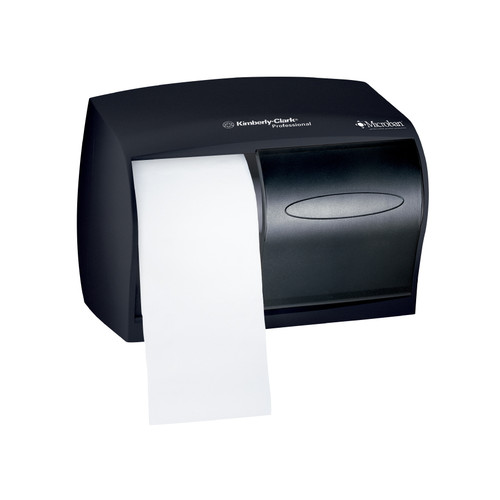 Kimberly-Clark Professional Coreless Double Roll Bathroom Tissue Dispenser, Smoke, 09604