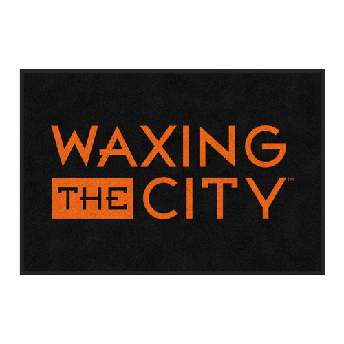The Andersen Company Waxing The City Logo Classic Impressions, Interior Wiper Mat, 70