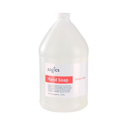 Zogics Hand Soap, Citrus + Aloe, HSCA128 (1 gallon)