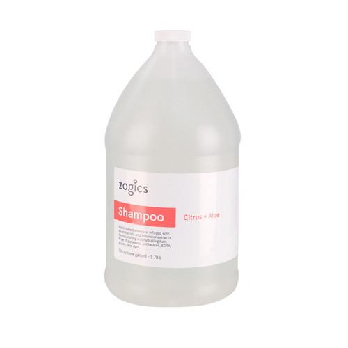 Zogics Shampoo, Citrus + Aloe, SCA128 (1 gallon) (SCA128-Single)