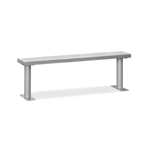 """Salsbury Aluminum Locker Bench (36"""" - 96"""")"""
