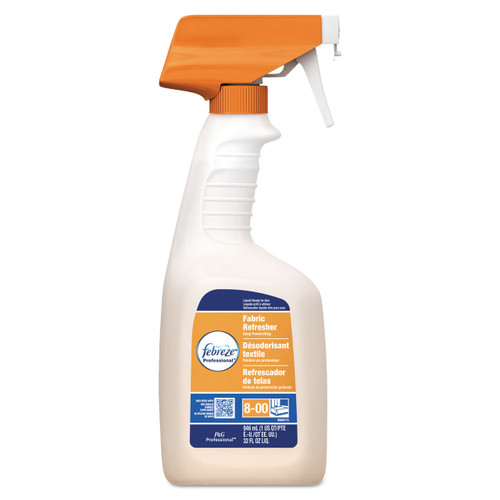 Febreze Professional Fabric Refresher Deep Penetrating Fresh Clean, 32 oz Spray, 03259CT (8/case)