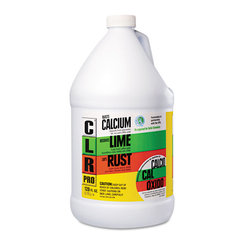 Calcium, rust and lime remover.