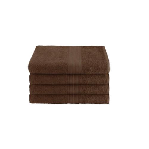 16x27 Ring Spun Hand Towel, Brown, 3lb (Monarch-Hand-Brown)