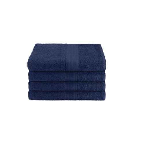 16x27 Ring Spun Hand Towel, Navy, 3lb (Monarch-Hand-Navy)