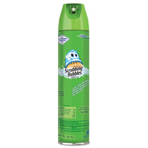 Scrubbing Bubbles Multi Surface Bathroom Cleaner, Clean Fresh Scent, 25 Oz Aerosol Can (12 cans/case)