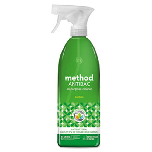 Method Antibac All-Purpose Cleaner, Bamboo, 28 oz Spray Bottle (MTH01452EA)