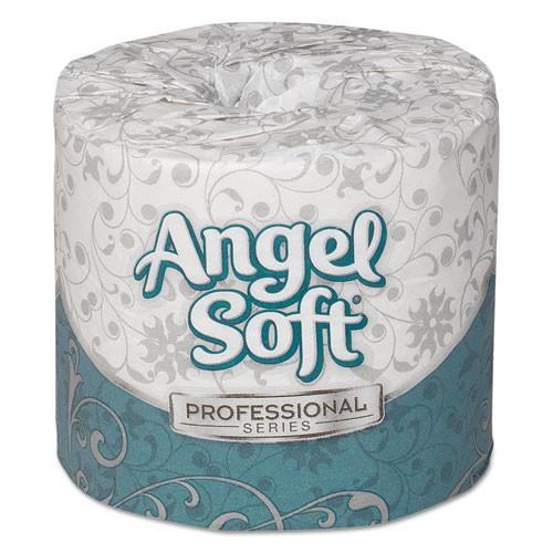 Georgia Pacific Angel Soft Professional Series Premium Toilet Paper, 450 Sheets/Roll, 80 Rolls/Carton
