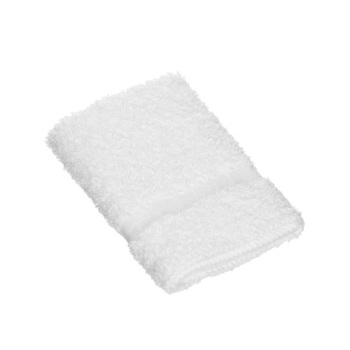 13x13 Washcloth, White, Dependability Series, 1.5 lbs/dz