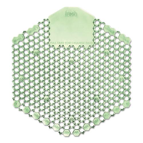 Fresh Products Wave 3D Urinal Deodorizer Screen, Green, Cucumber Melon Fragrance, 3WDS60CME (10 Screens/box)