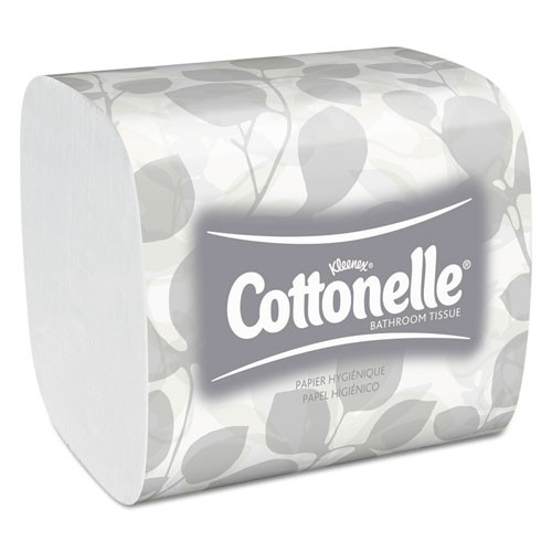 Cottonelle Hygienic Bathroom Tissue, 2-Ply, 250/Pack, 36/Carton (KCC48280)