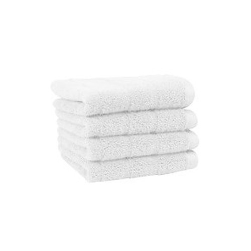 13x13 Washcloth, White, Millennium Series, 1.5 lbs/dz