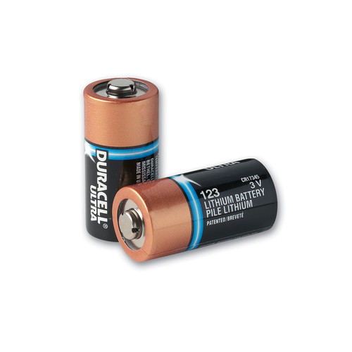 Duracell Type 123 Lithium Batteries (sleeve of 10) (8000-0807-01)