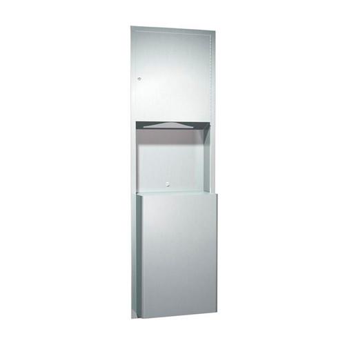 American Specialties Paper Towel Dispenser/Waste Receptacle (ASI-0469)