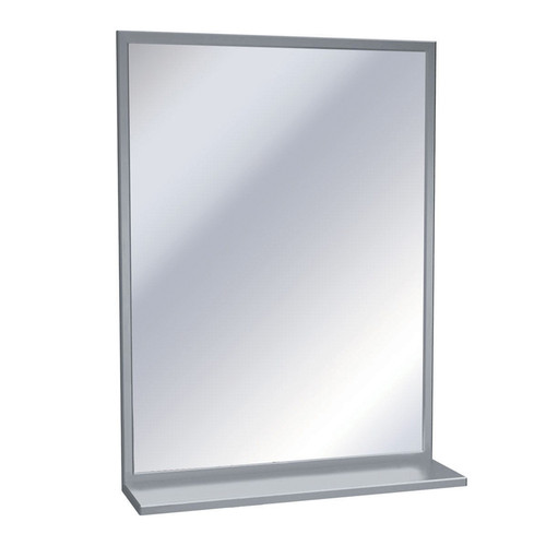 American Specialties Channel Frame Mirror with Shelf (ASI-0625)