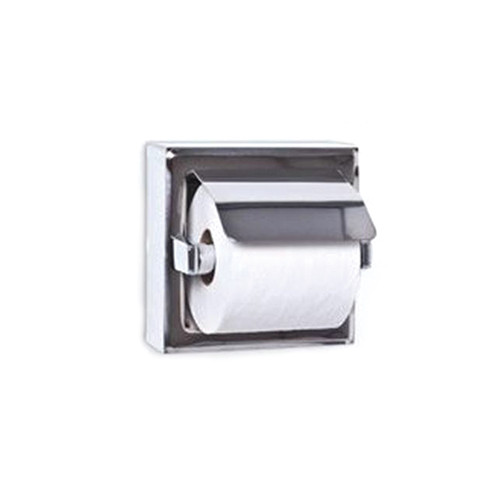 A&J Washroom Toilet Tissue Dispenser, Hooded (UX71)