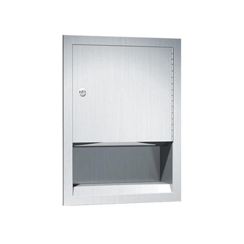 American Specialties C-Fold Paper Towel Dispenser, Recessed (ASI-0457)