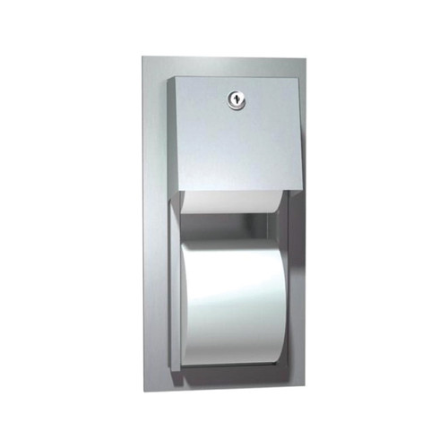 American Specialties Double-Roll Toilet Paper Dispenser (ASI-0031)