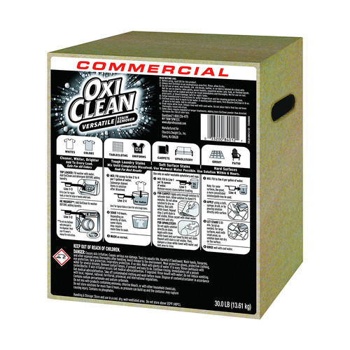 Oxi Clean Stain Remover, Regular Scent, 30 lb Box (Powder)