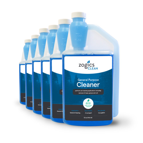 Zogics General Purpose Cleaner, 32 oz (6 units/case) (CLNGPC32CN-6)