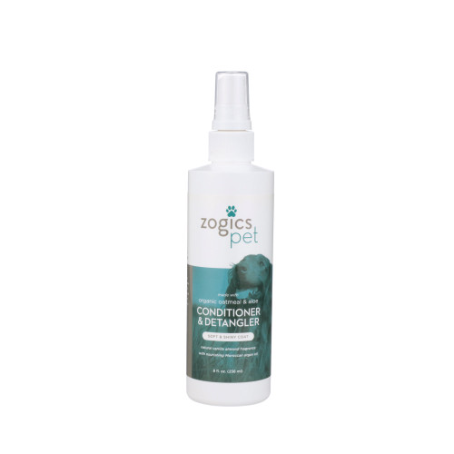 Zogics Pet Oatmeal & Aloe Conditioner & Detangler (PETCDT8VA)