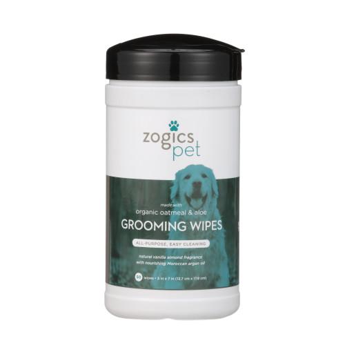 Zogics Pet Oatmeal & Aloe Grooming Wipes (PETWIP50VA)