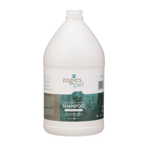 Zogics Pet Oatmeal & Aloe Shampoo, 1 gallon (PETSHA128VA)