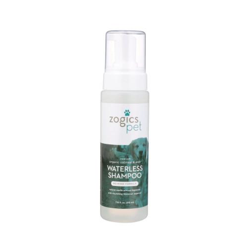 Zogics Pet Oatmeal & Aloe Waterless Shampoo (PETWSH7VA)