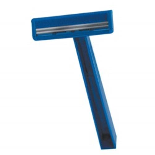 Quality Lightweight Twin Blade Razor, Blue