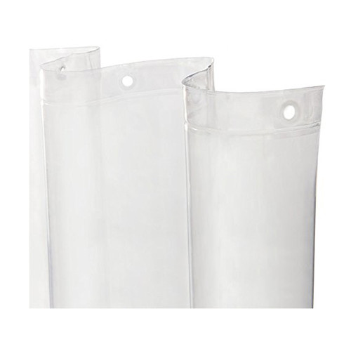 Kenney Manufacturing Heavy Weight PEVA Shower Liner, Clear